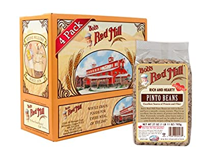 Bob's Red Mill Beans Pinto, 27-Ounce (Pack of 4) from Bob's Red Mill