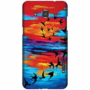 Printland Designer Back Cover for Samsung Galaxy j2 - Fly High Case Cover