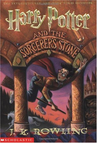 Harry Potter and the Sorcerer's Stone, J.K. Rowling; Mary GrandPré