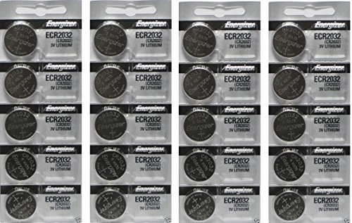 Energizer CR2032 3 Volt Lithium Coin Battery 4 Packs Of 5 In Original Packaging (Energizer Battery Cr2032 compare prices)