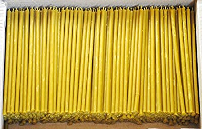 Votprof Natural Beeswax Candles Tapers Set