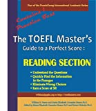 img - for The TOEFL Master's Guide: Reading Section Precise Test Preparation Methods - Fast Track Edition (PraxisGroup International Language Academic Series Book 2) book / textbook / text book