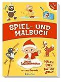 Spiel- und Malbuch Unser Sandmännchen hergestellt von Edition A. Trötsch
