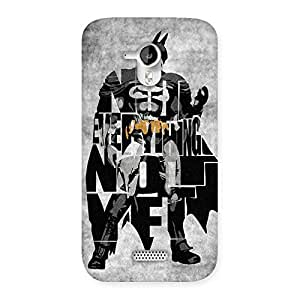 Premium Everything Knight Multicolor Back Case Cover for Micromax Canvas HD A116