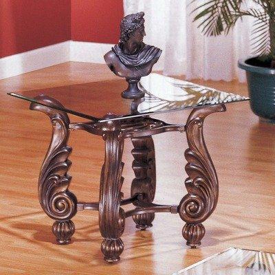 Cheap Gamma End Table in Bronze (7143E)