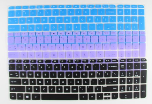 3-Pack High Quality Ultra Thin Soft Silicone Keyboard Protector Skin Cover For Hp Envy Touchsmart Sleekbook 15-E*** 15T-E*** 15Z-E*** 15Z-J*** 15-J*** 15Z-B*** 15-B*** 15-N*** 15-D*** 15-G*** 15-G*** 15-P*** 15-U*** 15-R*** M6-K*** M6-N*** 17-J*** 17T-J**
