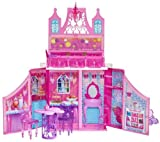 MATTEL Barbie - Princess Castle Playset Y6855 (The all new DVD Barbie Mariposa and the Fairy Princess brings back the beloved fairy in a new role, as an ambassador to a faraway fairy kingdom, where she stays in the royal castle with her new friend, the k