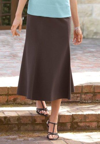 Stretch Trumpet Skirt - Buy Stretch Trumpet Skirt - Purchase Stretch Trumpet Skirt (Chadwicks, Chadwicks Skirts, Chadwicks Womens Skirts, Apparel, Departments, Women, Skirts, Womens Skirts, Wrap, Wrap Skirts, Womens Wrap Skirts)