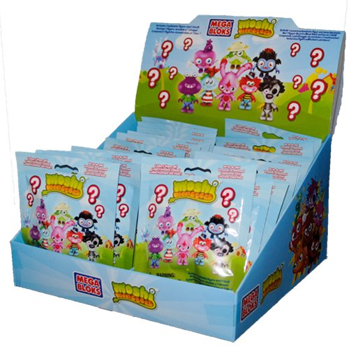 Mega Bloks Moshi Monsters 80600 Series 1 Minifigure Mystery Pack 1 RANDOM Mini Figure