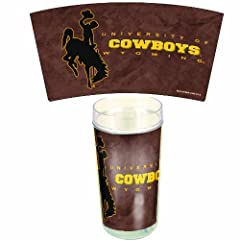 Buy NCAA Wyoming Cowboys 24-Ounce 2-Pack Tumblers by WinCraft