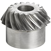 "Boston Gear SS82P Bevel Gear, 2:1 Ratio, 0.750"" Bore, 8 Pitch, 17 Teeth"