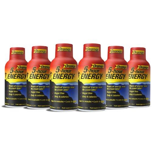 5 Hour Energy Drink Energy Shot 58ml - Orange Flavour