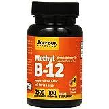 Jarrow Formulas Methyl B-12 Supplement, 100 Count