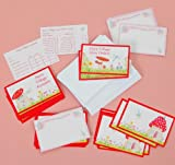 FRILLY LILY FAIRY POST OFFICE REFILL PACK OF 45 CARDS AND 20 ENVELOPES