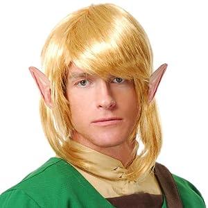 Elf Warrior Wig - Zelda Link Wig (Standard)
