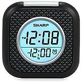 Sharp Vibrating Pillow Alarm Clock - Black