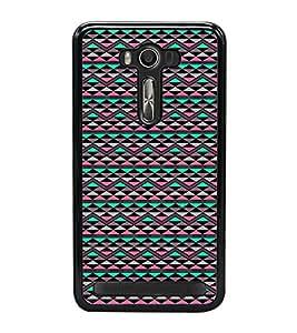 Colourful Pattern 2D Hard Polycarbonate Designer Back Case Cover for Asus Zenfone Selfie ZD551KL