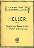 img - for Twenty-four Piano Studies for Rhythm and Expression, Op. 125 (Schirmer's Library of Musical Classics, 766) book / textbook / text book