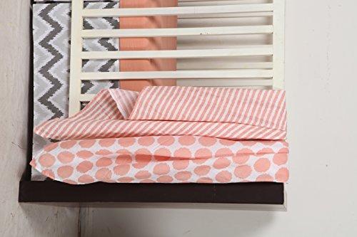 Coral Crib Sheets front-926566