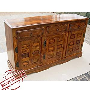 traditional handmade solid wood 3 door. Black Bedroom Furniture Sets. Home Design Ideas