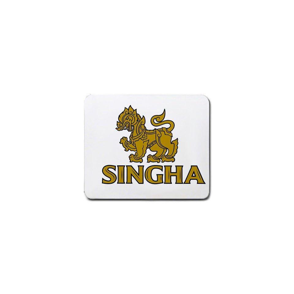 Singha Beer LOGO mouse pad