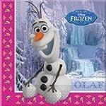 Disney Frozen OLAF Napkins x20