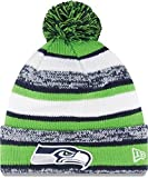 New Era On field Sport Knit Seattle Seahawks Game Hat Navy/Green/White Size One Size