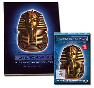 TUTANCHAMUN - Sein Grab und die Schätze DVD inkl. Buch/ Katalog zur Ausstellung (Buchumschlag: Prägedruck)
