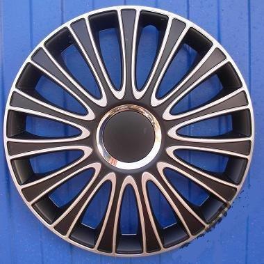 """Radzierblenden Radkappen 16"""" Zoll für Audi Schwarz/Silber von Autoteile321 bei Reifen Onlineshop"""