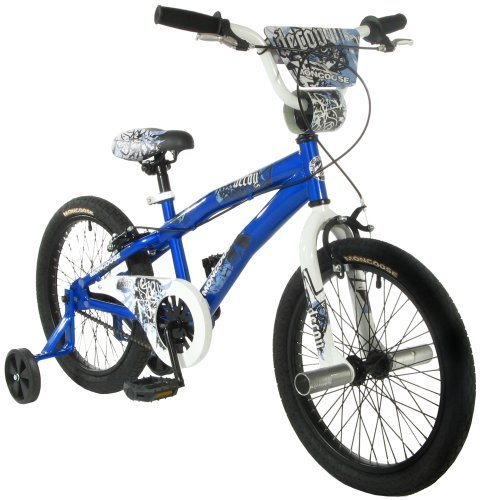 Junior Size Freestyle Frame With Unicrown Fork - Mongoose Decoy Boy's Bike (18-Inch Wheels)