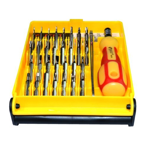 brand new 32 in 1 pocket screwdriver tool set kit with interchangeable precise magnetic head. Black Bedroom Furniture Sets. Home Design Ideas