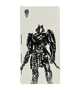 EPICCASE Wolverino ninja Mobile Back Case Cover For Sony Xperia Z5 (Designer Case)