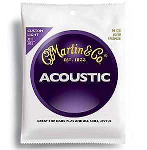 Martin(マーチン) マーチン アコースティックギター弦 M-175 カスタムライト