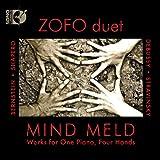 MIND MELD ゾフォ・デュエットによる連弾曲集 - バーンスタイン/シェイペロウ/ドビュッシー/ストラヴィンスキー