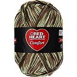 Coats Yarn Red Heart Comfort Yarn, Light Camo Print