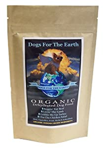 Dogs For The Earth Organic Dehydrated Dog Food Beggin' For Beef Small Bag