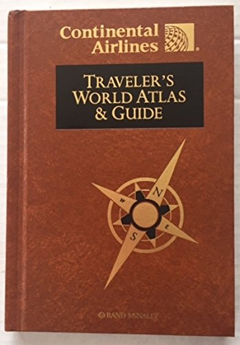 continental-airlines-travelers-world-atlas-guide-1997-hardcover-rand-mcnally-hardback