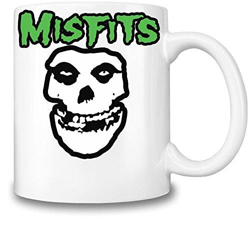 Misfits Logo Tazza Coffee Mug Ceramic Coffee Tea Beverage Kitchen Mugs By Genuine Fan Merchandise