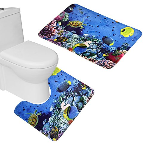 bearbae-2-pieces-tapis-de-bain-tapis-contour-wc-tapis-de-salle-de-bain-design-colorful-sea-world