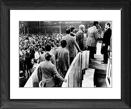 Framed Print of Republican Convention delegates from Everett Collection
