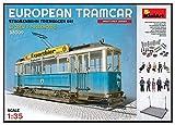 1/35 ヨーロッパ路面電車 路面ベース付 プラモデル MA38009