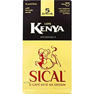 Buy SICAL - KENYA - Single Serving ESE 44mm Pods - 4 x 16 ESE pods (TOTAL = 64 ESE pods) from SICAL Cafè a NESTLÉ PORTUGAL Company