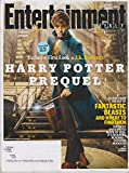Entertainment Weekly November 13, 2015 Exclusive First Look at J K Rowling's Harry Potter Prequel