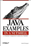 Java Examples in a Nutshell: A Companion Volume to Java in a Nutshell (In a Nutshell (O'Reilly)) (1565923715) by Flanagan, David