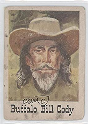 Buffalo Bill Cody COMC REVIEWED Poor (Trading Card) 1966 Leaf Good Guys and Bad Guys #71