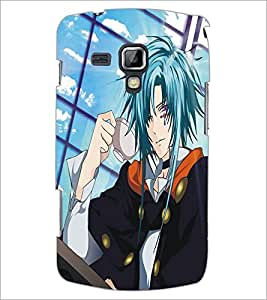 PrintDhaba Bold Girl D-5393 Back Case Cover for SAMSUNG GALAXY S DUOS 2 S7582 (Multi-Coloured)