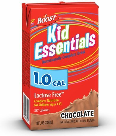 Nestle Boost Kid Essentials -Chocolate 8 Fl Box Case: 27