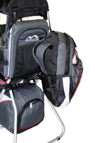 Montis hoover zaino porta bimbo premium fino a 25kg grigio - Zaino trekking porta bimbo ...