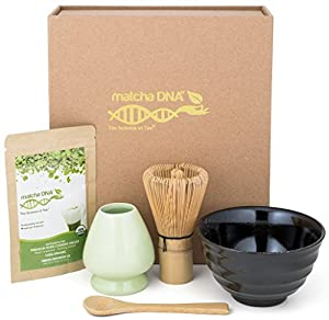 Matcha Tea Gift Set - Matcha Tea Ceremony Set by Matcha DNA