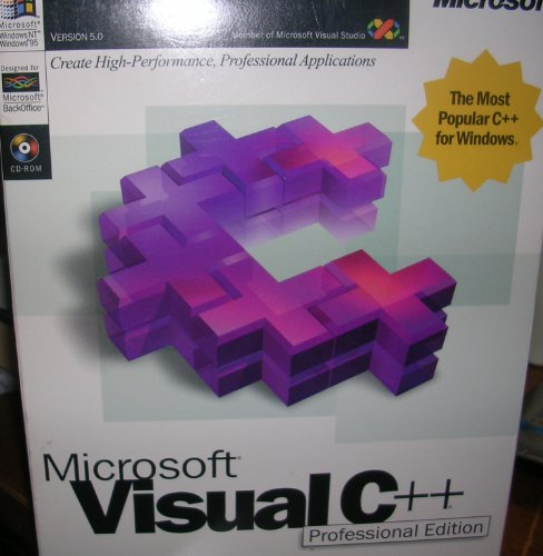 Microsoft Visual C++ Professional Edition Version